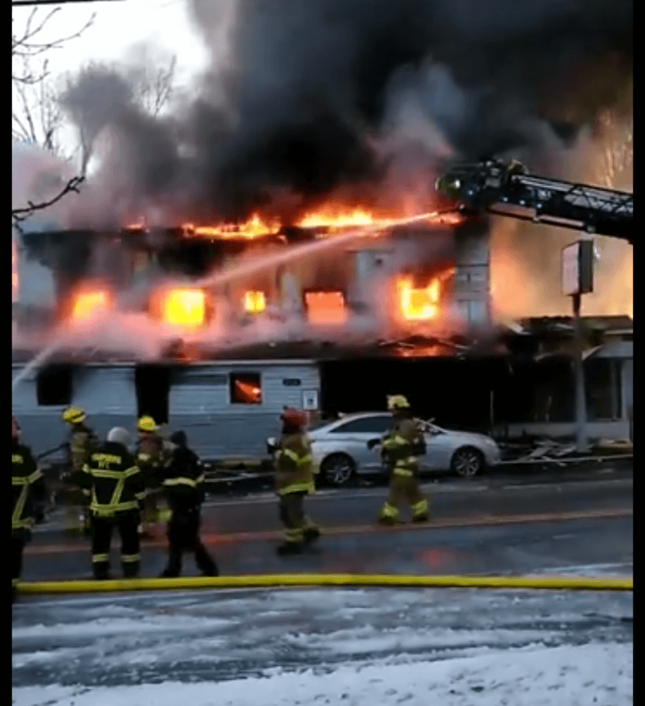 Co. 11 to Working Fire in Sharpsburg