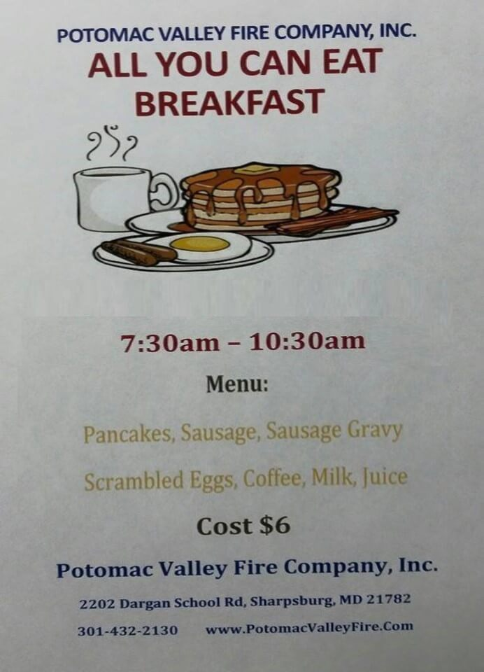 PVFC All You Can Eat Breakfast