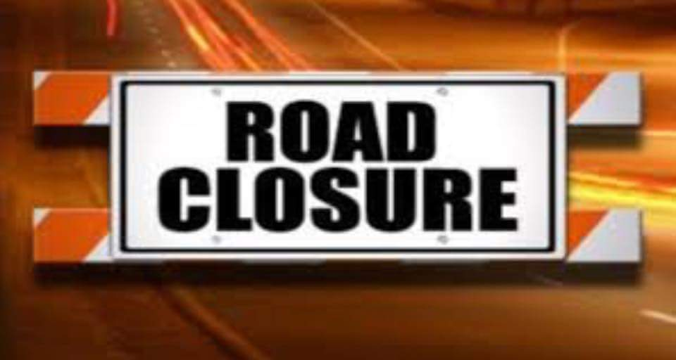 Road Closure – Sandy Hook Rd
