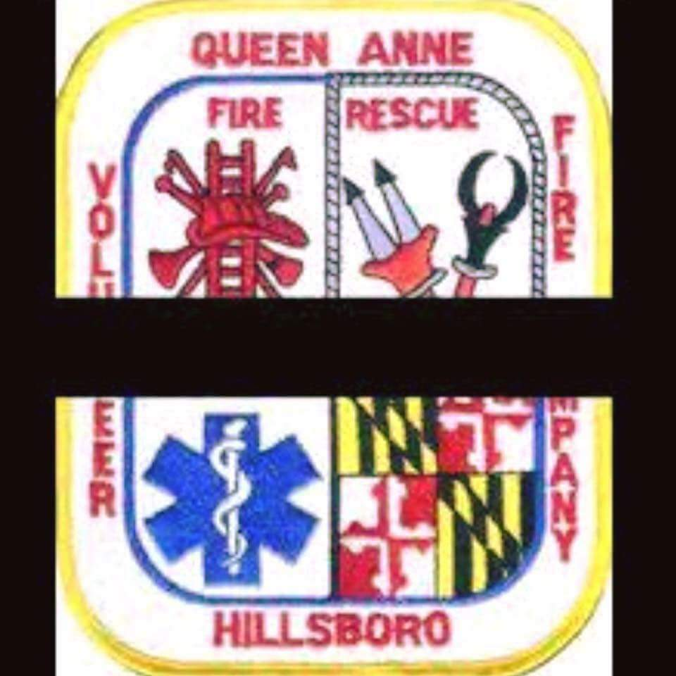 Thoughts & Prayers to the Queen-Annes Hillsboro Vol Fire Co.