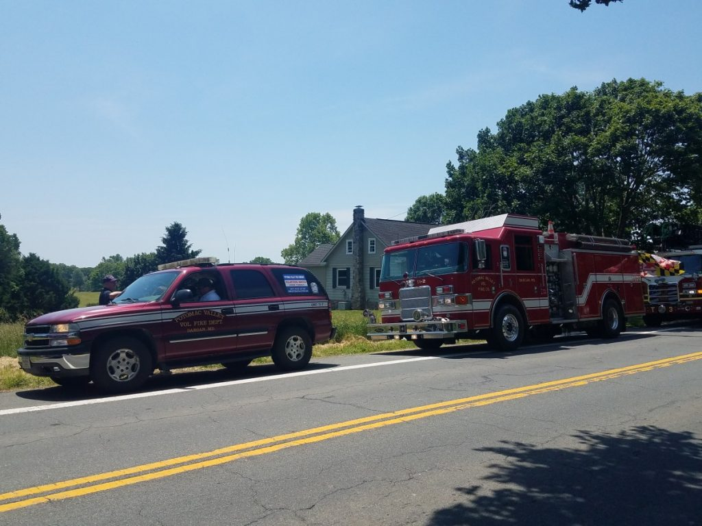 Company 11 Attends Sharpsburgs Memorial Day Parade