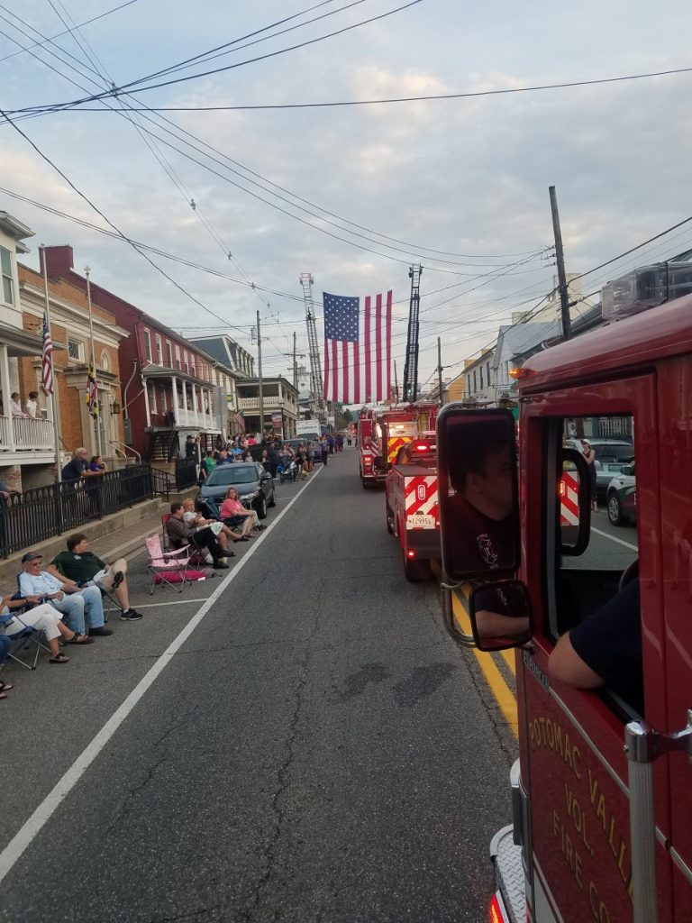 Town of Boonsboro 9-11 Remembrance Parade