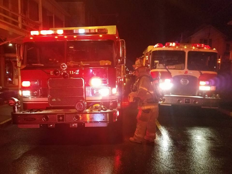 Co. 11 responds to 2 Alarm Fire