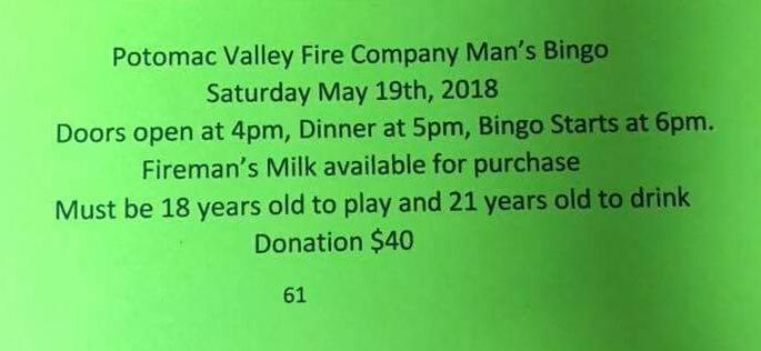 """""""Man's Bingo"""" Sportsman Prizes"""