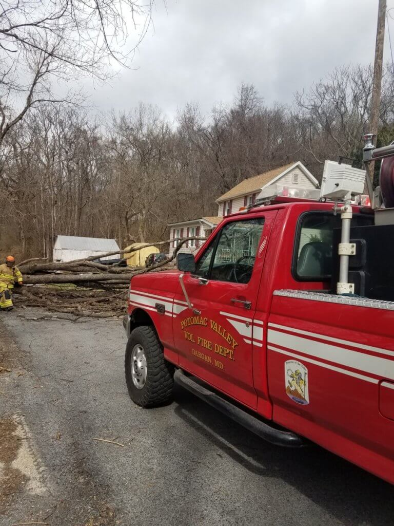 Strong winds keep Units busy