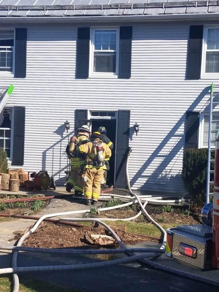 Mutual Aid House Fire