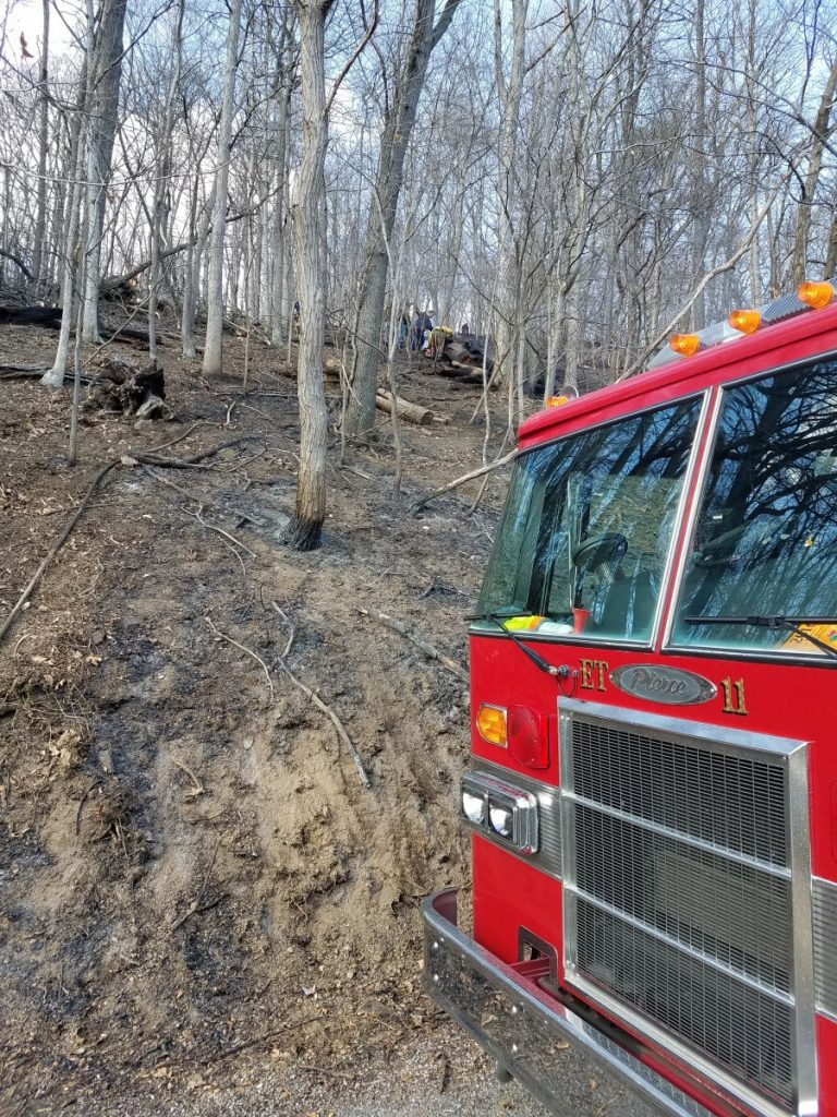 Mountain Fire – Sandy Hook Rd