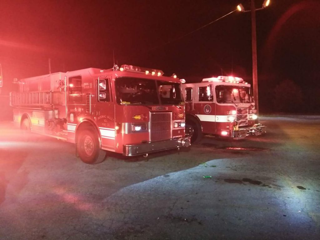 Engine-Tanker responds to Jefferson County 3 Alarm fire